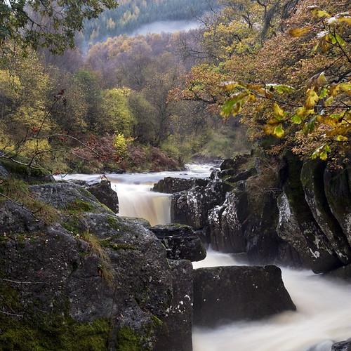 The Bracklinn Falls