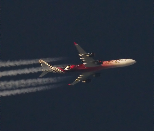 Etihad F1 A340
