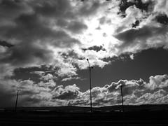 Skyline (pulloa) Tags: chile sky blackandwhite bw skyline clouds de view panoramic cielo nubes punta arenas costanera estrecho magallanes puntaarenas costaneradelestrecho