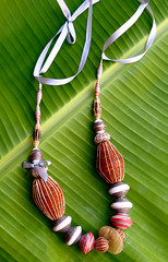 fair trade beads (Mzuri beads) Tags: bananaleaf barkcloth cowhorn paperbeads ethicalfashion ribbonnecklace recycledjewelry fairtradejewelry naturalbeads fairtradebeads ugandanbeads ecojewellery ethicalbeads mzuribeads ugandanjewelry kirstiemaclean