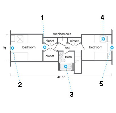 attic kids suite plan This Old House
