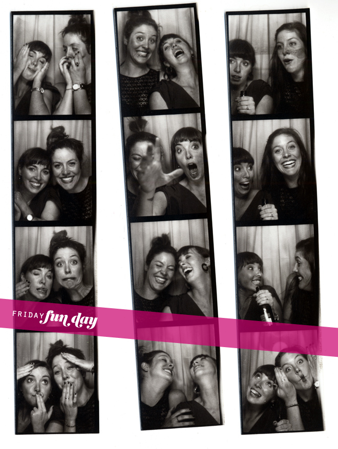 E+D photobooth | friday funday