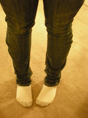 altered skinny jeans (attribute by angela) Tags: skinny jeans denim alteration fad