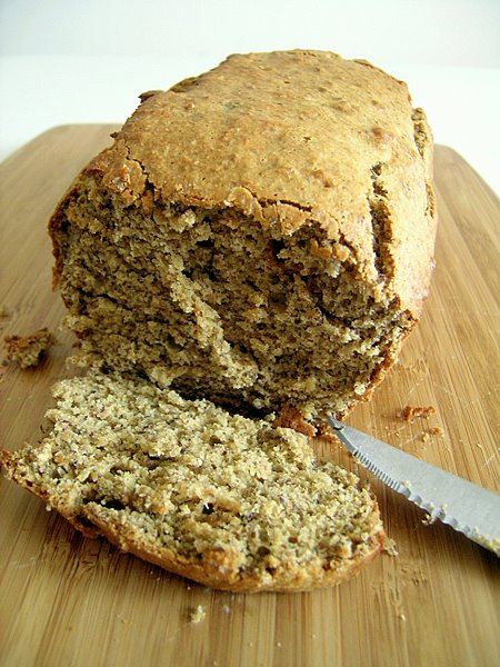 Banana Bread with flaxseed