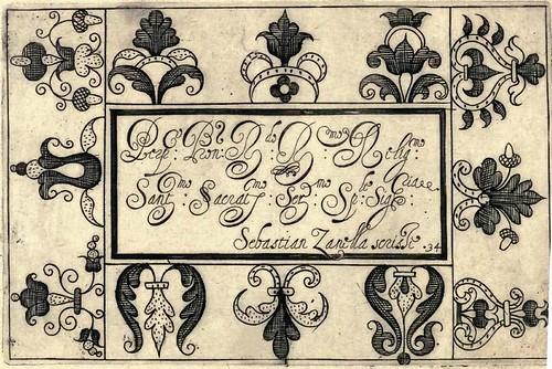 Bertozzi + Zanilla 1604 Lace Typography k