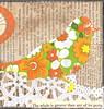 The Geometry of Birds - Close up detail (ms_mod) Tags: original orange green bird art silhouette collage tangerine vintage paper design spring mod handmade geometry antique mixedmedia dream retro ephemera lime etsy flowerpower dollface dollfacedesign