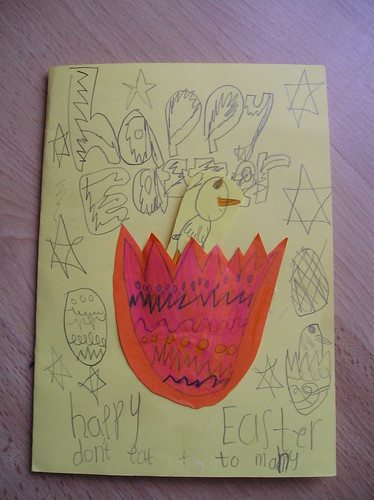 My special easter card!!