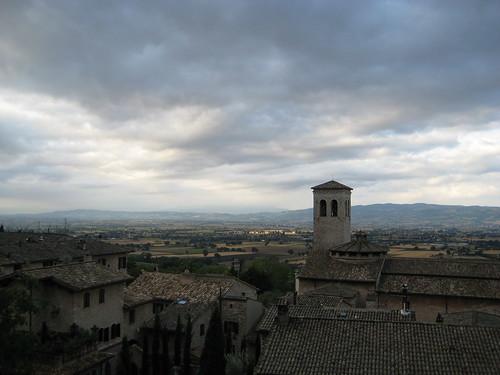 Assisi: Rainy day