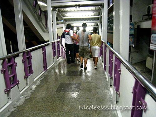 wet sky bridge