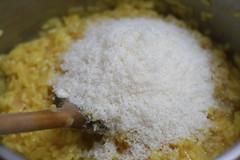 Riz & parmesan