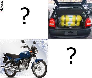foto compensa kit gás gnv ou compro moto?
