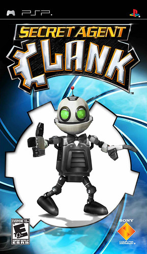 Secret Agent Clank-pack front