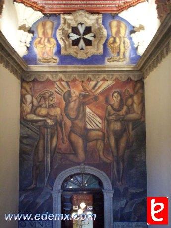 Casa de los Azulejos Mural Omnisciencia. ID274, Iván TMy©, 2008