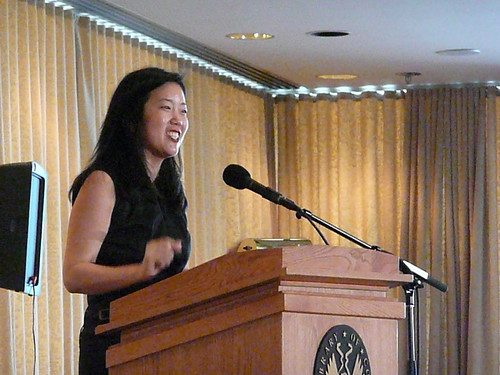 Michelle Rhee by Flickr user angela n.