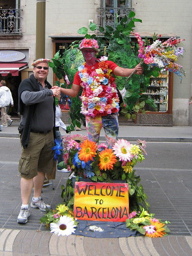 Welcome to Barcelona :-