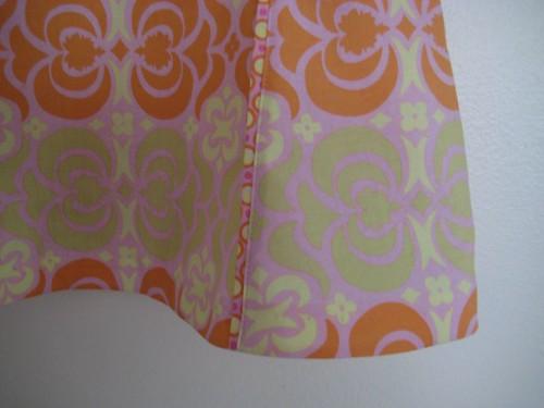 Tea party dress - blind hem stitch