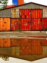 Container shed (cienne45) Tags: friends italy liguria cienne45 carlonatale explore genoa natale exploreexset explore1336