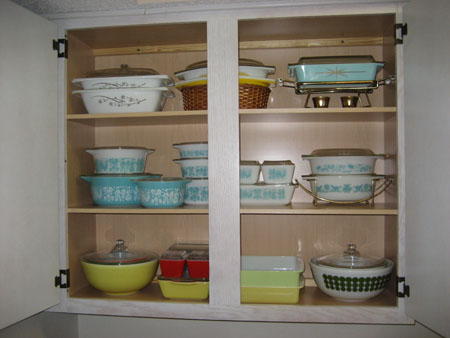 Pyrex Cupboards