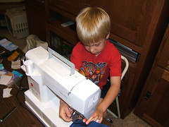 J.J. Learning 2 Use a Sewing Machine