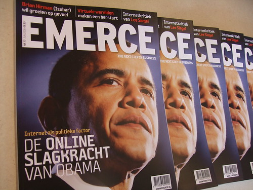 De online slagkracht van Barack Obama