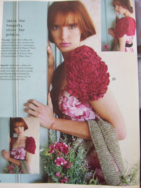 Rose Shrug by Megumi Hirai