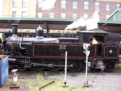 Steam Locomotive No 3112 at Sydney Central Railway Station (333junction) Tags: sydney australia steamlocomotive centralrailwaystation steamlocomotive3112