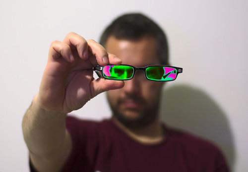 Creo que hay algo raro con mis lentes nuevos (365-22)