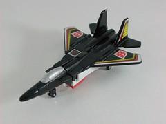 Transformers Air Raid G1 - modo alterno