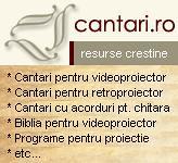 CÂNTĂRI CREŞTINE SCRISE