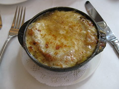 Bistro 110: French onion soup