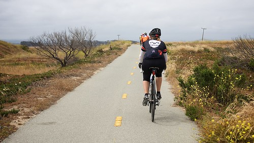 Bikes Belong Membership Dues Riding a rural CA bike trail