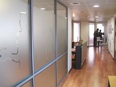Avance ambientacin de la Oficina (19/06/08) (Digitarios) Tags: chile santiago work trabajo office drawings oficina 2008 dibujos providencia agencia arreglos paneles digitaria trazados