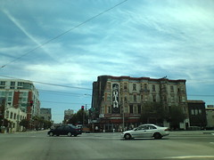 車から撮ったシスコのビル。
