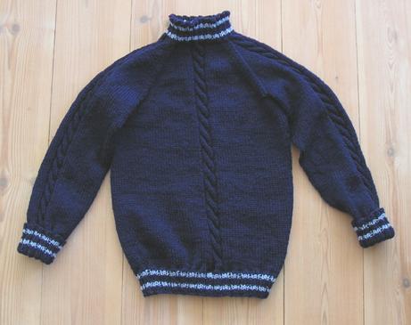 Navy Sweater 3