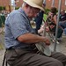 Jimmy Costa, playing banjo #1