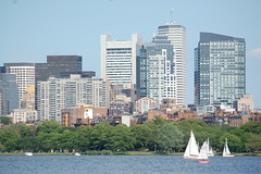 Boston skyline (Back Bay)  along Charles river (mbell1975) Tags: new cambridge england usa building boston skyline river ma bay us office back district massachusetts newengland places charles historic national register mass financial skyscaper skyscapers worldtrekker