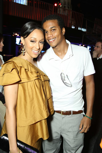 tia mowry husband. Actress Tia Mowry was a guest