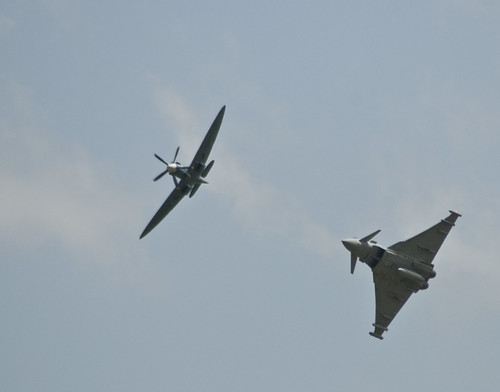Spitfire and Eurofighter