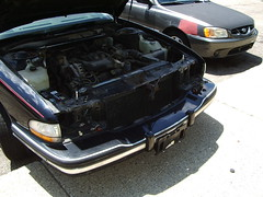 Headlights thefted!!!! (railnut19) Tags: auto buick headlights arbor ann 1994 lesabre theft
