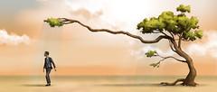 Tree (ilustracionamentador) Tags: man hot tree men cu victor anuncio nuvens draw arvore nuvem homem desenho calor roupa ambiente meio crea victorjam pag