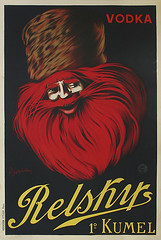 vintage poster Relsky Vodka (vintageposters) Tags: original red art vintage hair advertising beard gallery drink russia spirit beverage william drinks alcohol posters vodka 1910 payne capiello kumel leonetto relsky