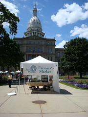 Farmer's Market @ the Michigan Capitol