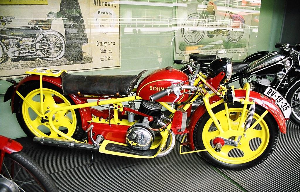 BOHMERLAND MOTORCYCLE 1937