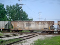 1970's era Family Lines covered hopper. Hawthorne junction. Chicago / Cicero Illinois. june 2007.