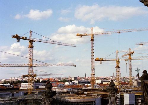 cranes over berlin