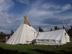 Mitchuap for walking out ceremony (alanah.montreal) Tags: canada quebec traditional tipi chisasibi cree walkingout