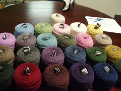 Knitting Olympics Yarn