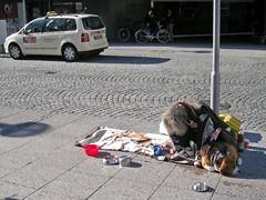 Bettler in Braunschweig