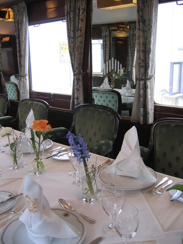 Presidential Salon Carriage in the Wagon Lits / Orient Express style