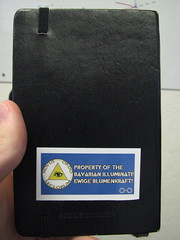Illuminati-owned Moleskine